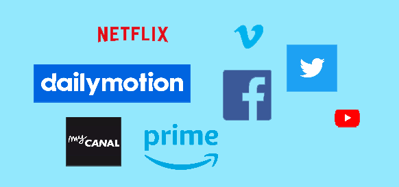 an-image-displaying-the-logos-of-OTT-content-service-providers