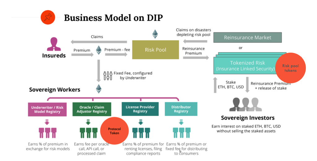 Business Model on DIP - Insurtech Company