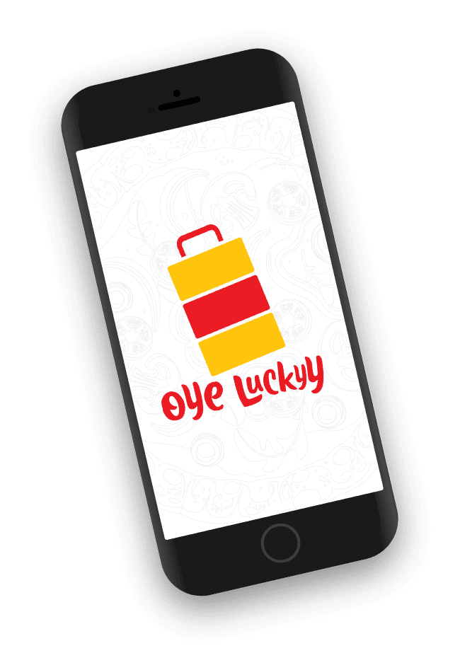 Oye Lucky Home Screen